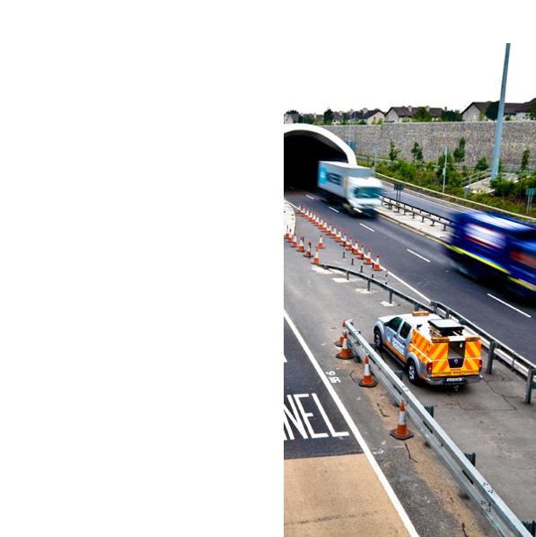 Dublin port tunnel northbound exit