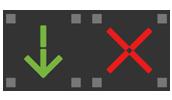 Lane control signs